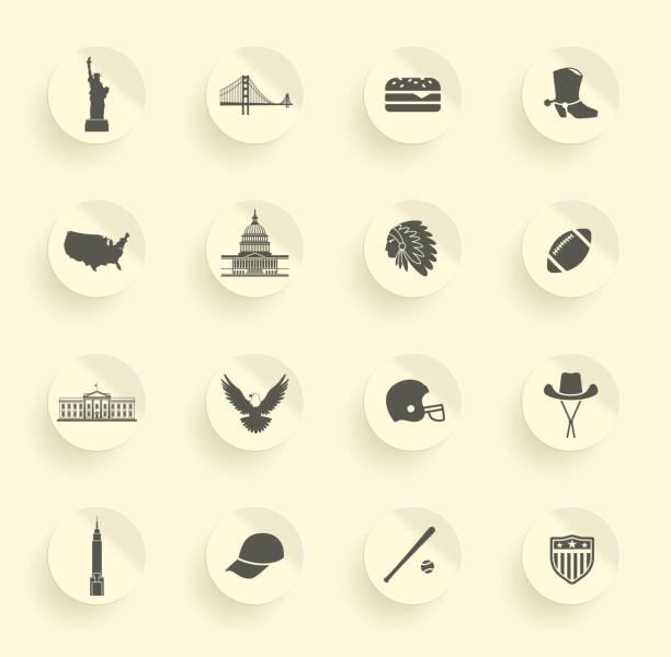 symbole usa - white house stock illustrations