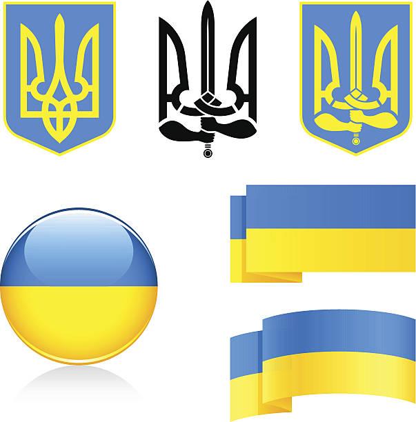 symbols of ukraine - 烏克蘭 幅插畫檔、美工圖案、卡通及圖標