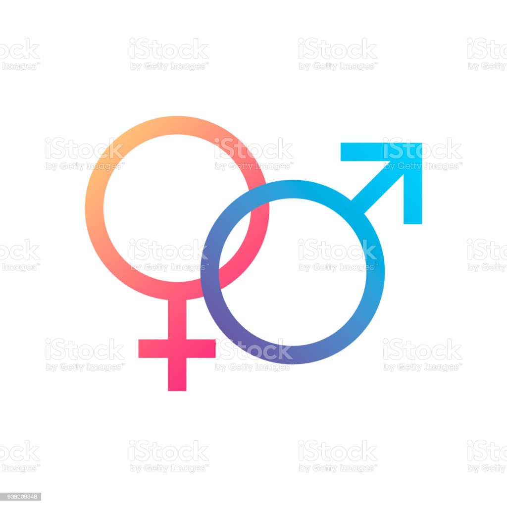 Symbols Of Venus And Mars Sexual Orientation Vector Illustration
