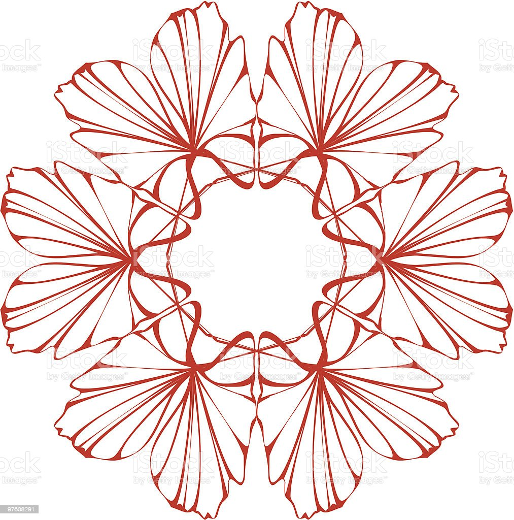 symmetric flower royalty-free symmetric flower stock vector art & more images of abstract