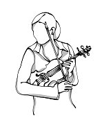 istock Symphonic Orchestra Violonist 1126562641