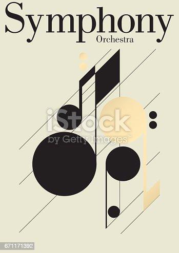 istock Symphony Music Festival Template 671171392