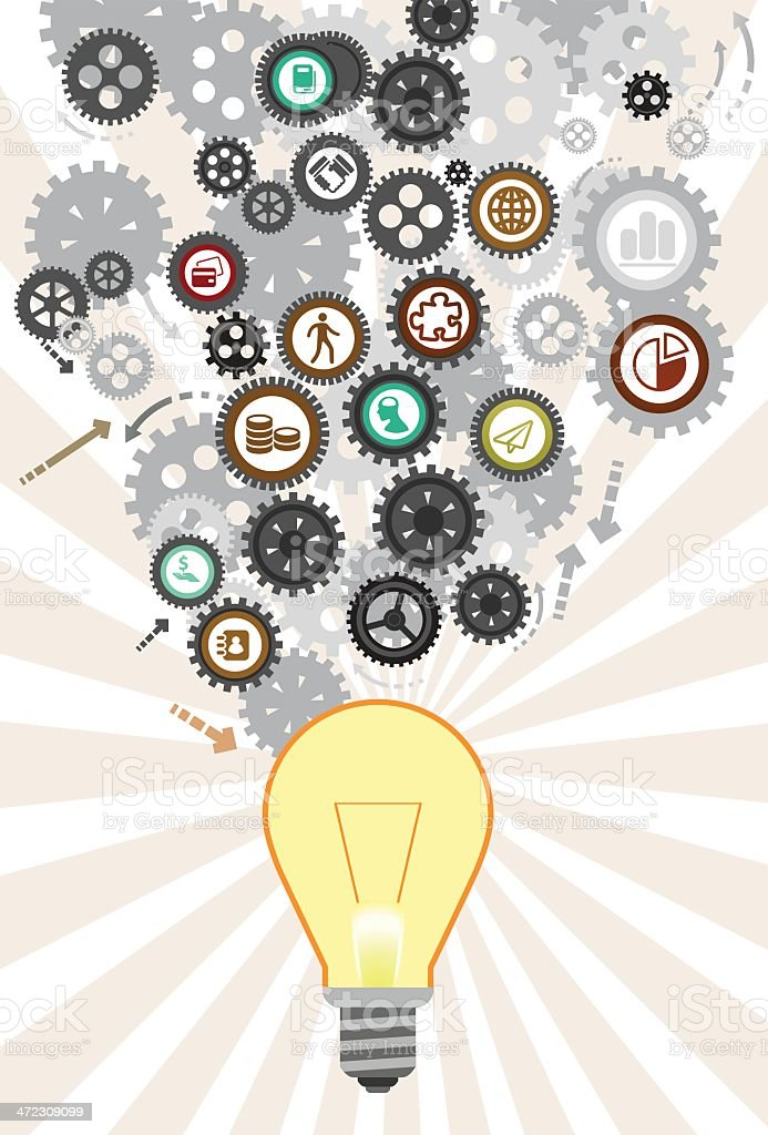 System of Thought royalty-free system of thought stock vector art & more images of bright