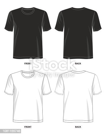 design vector t shirt template for men