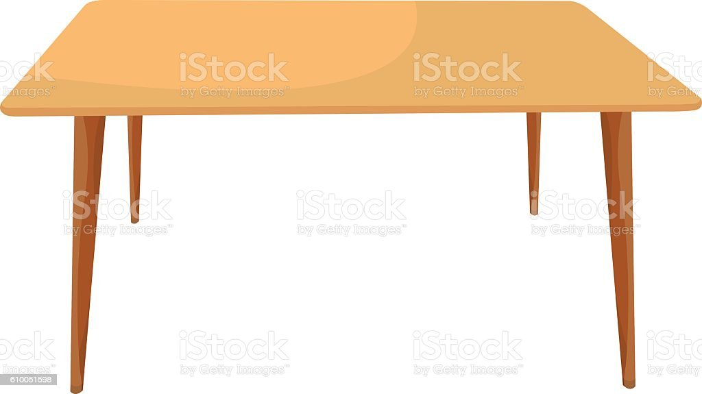 table 02 vector art illustration