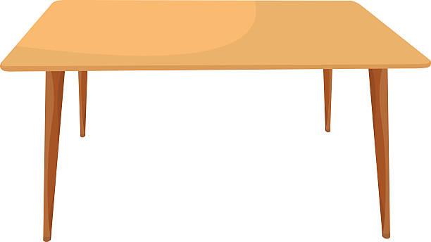 stockillustraties, clipart, cartoons en iconen met table 02 - breakfast table