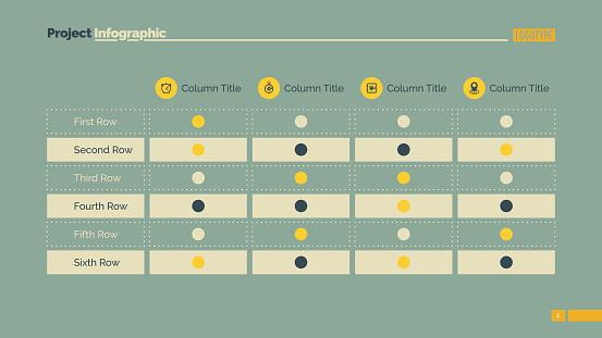 Table chart slide 2