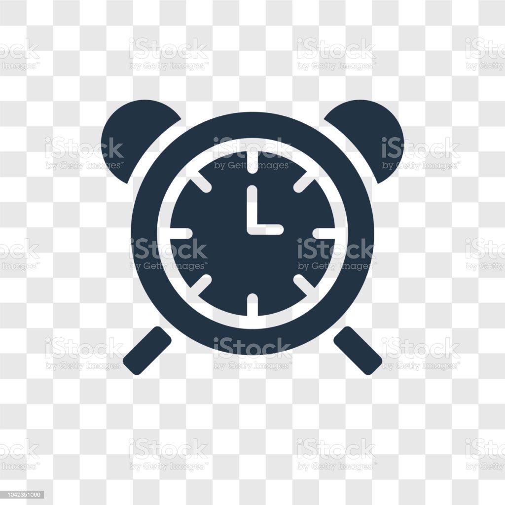 Icône De Vecteur Horloge Tableau Isolé Sur Fond Transparent