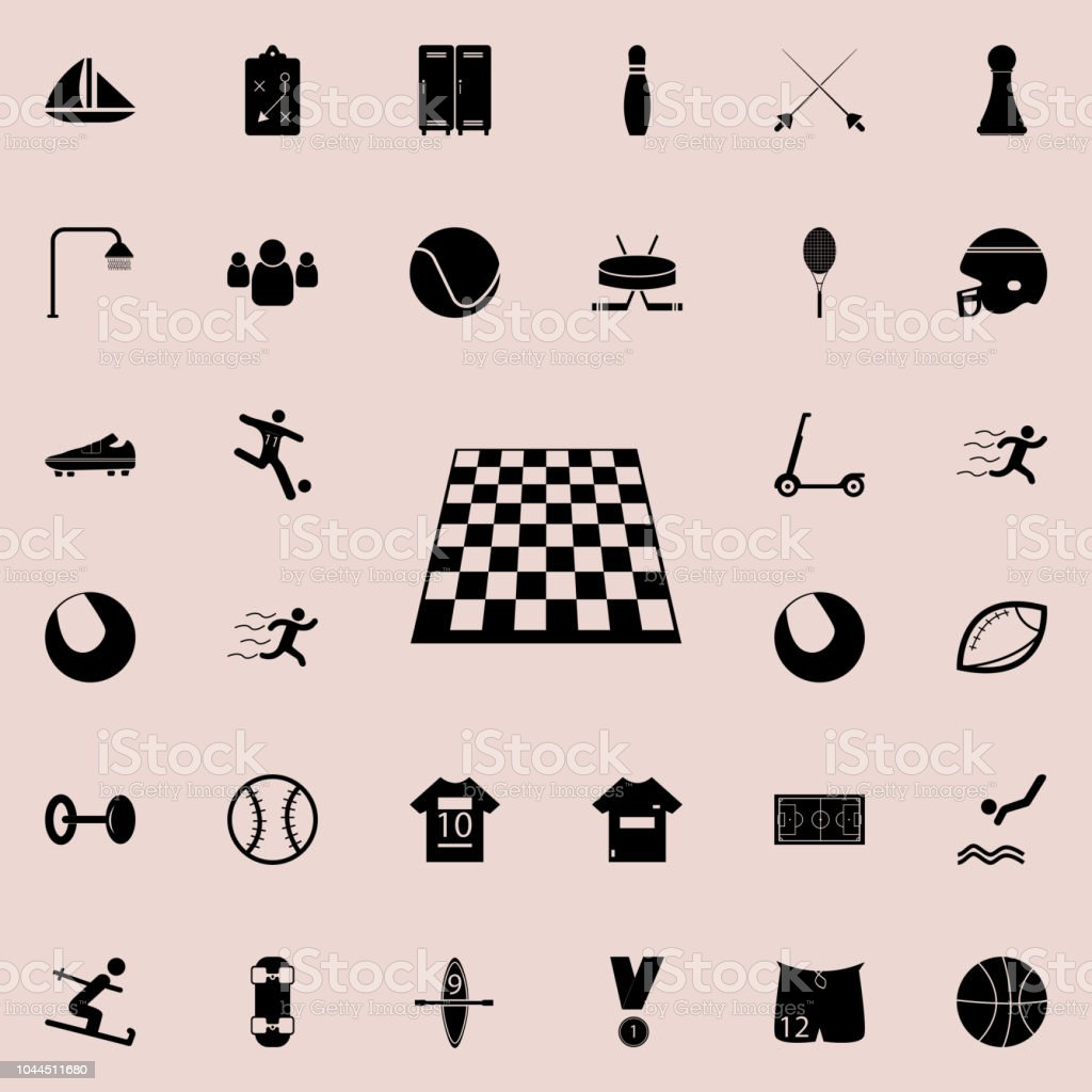 Table Game Board Chess Icon Sport Icons Universal Set For Web And