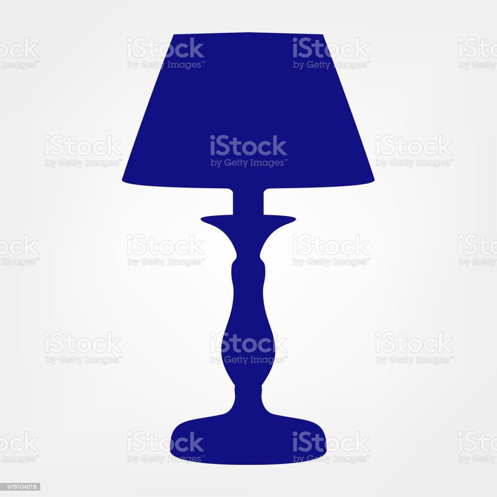 Table Lamp Vector Floor Lamp Stock Illustration Download Image Now Istock