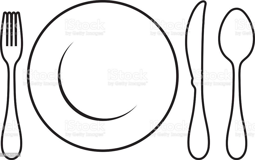 table setting stock vector art more images of arranging 522872315 rh istockphoto com  table place setting clipart
