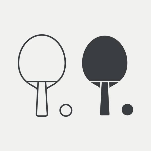 Best Ping Pong Balls Illustrations, Royalty-Free Vector