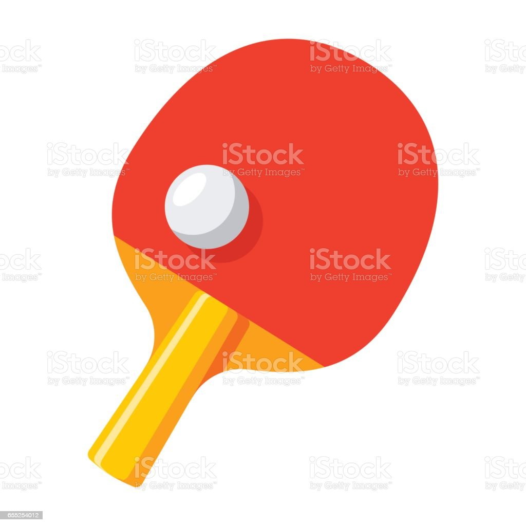 royalty free ping pong paddle white background clip art vector rh istockphoto com ping pong clip art free ping pong toss clipart