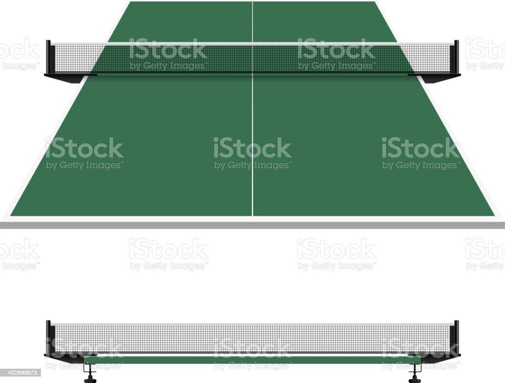 Table tennis, ping pong net royalty-free stock vector art