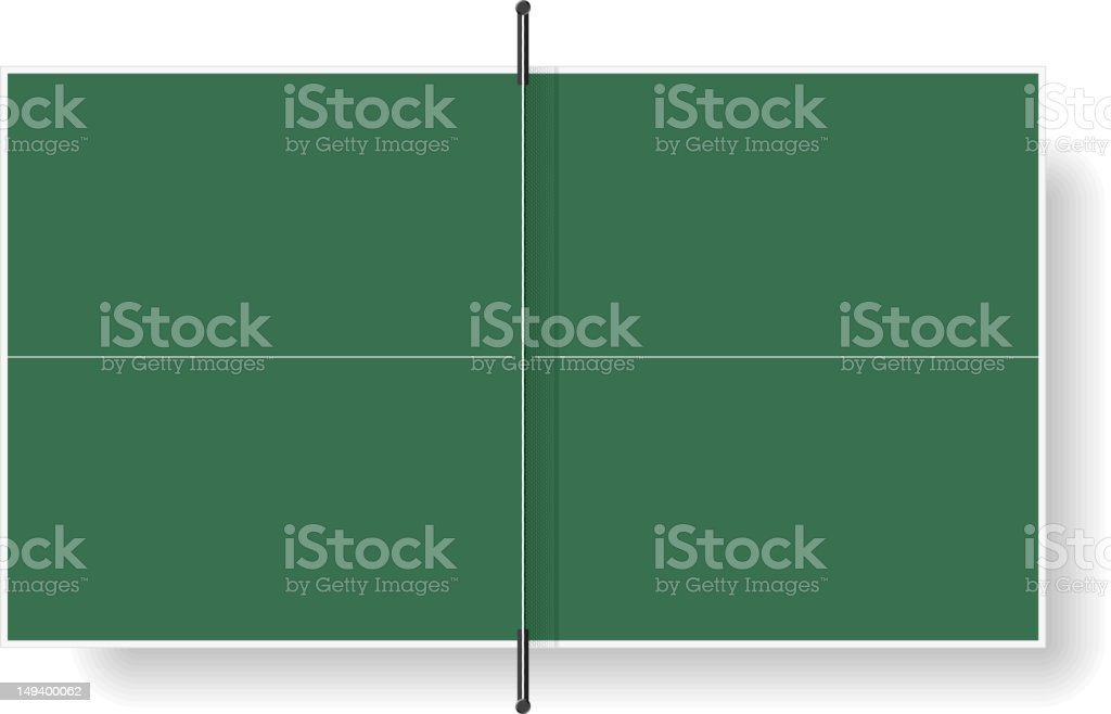 Royalty Free Ping Pong Table Clip Art Vector Images