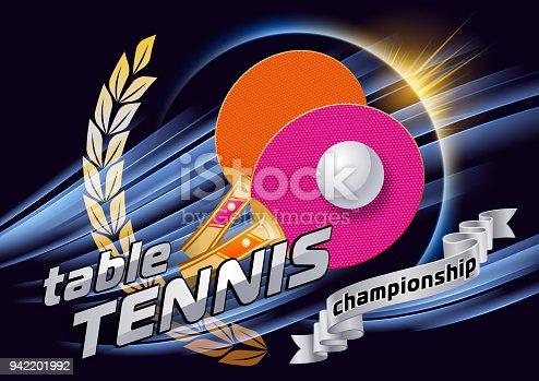 istock Table tennis 942201992