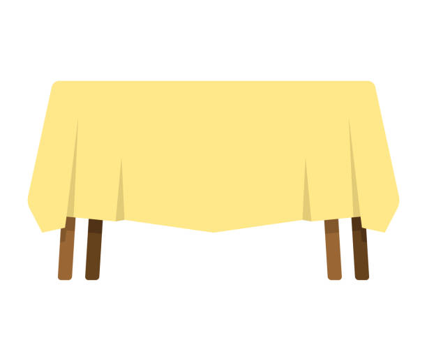 Royalty Free Brown Table Cloth Clip Art, Vector Images ...