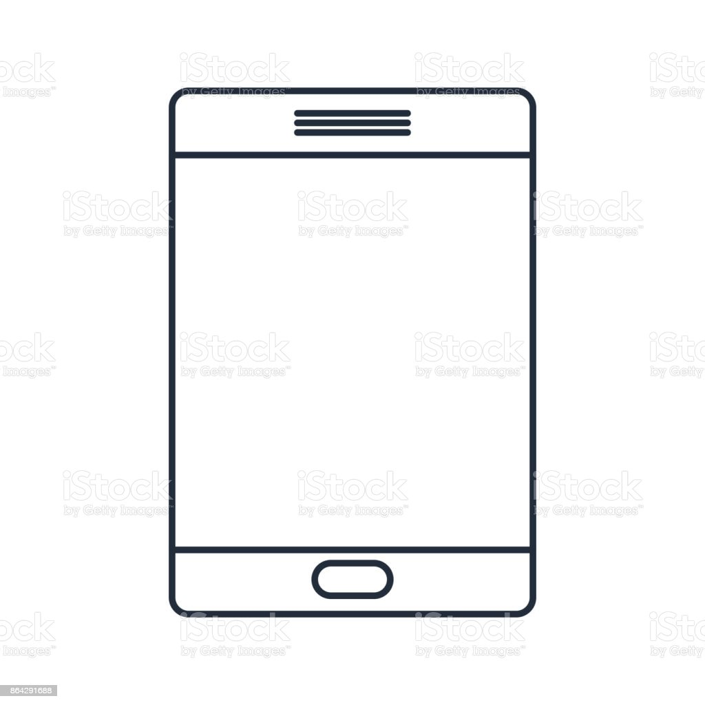 tablet computer isolated icon design royalty-free tablet computer isolated icon design stock vector art & more images of business