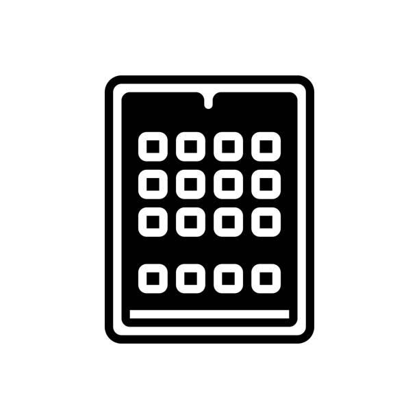 tablet ipad - ipad stock illustrations