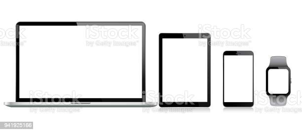 Tablet mobile phone laptop and smart watch vector id941925166?b=1&k=6&m=941925166&s=612x612&h=nonswsu0kihoogzcr vcqf utfezssrnss0hbn7lxpe=