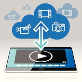 Tablet PC - Movies in the Data Cloud