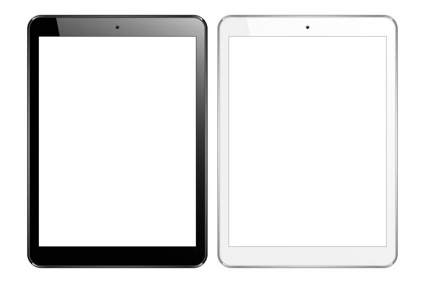 tablet  - tablet pc stock-grafiken, -clipart, -cartoons und -symbole