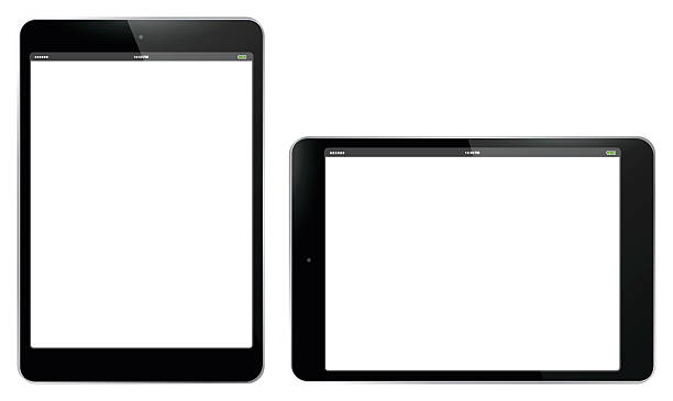 Tablet PC Vertical and Horizontal Vector Illustration. Tablet PC Vertical and Horizontal Vector Illustration.  Easy editable, Eps 10. ipad stock illustrations
