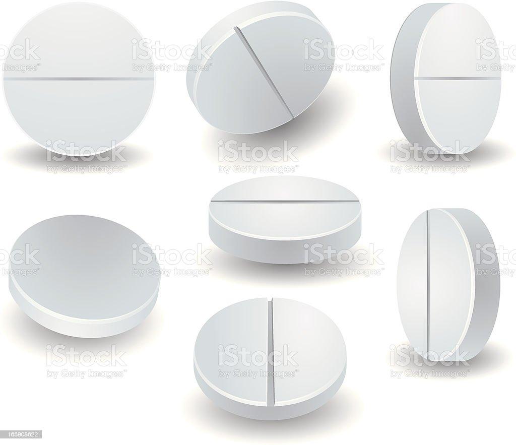 Tablet set vector art illustration