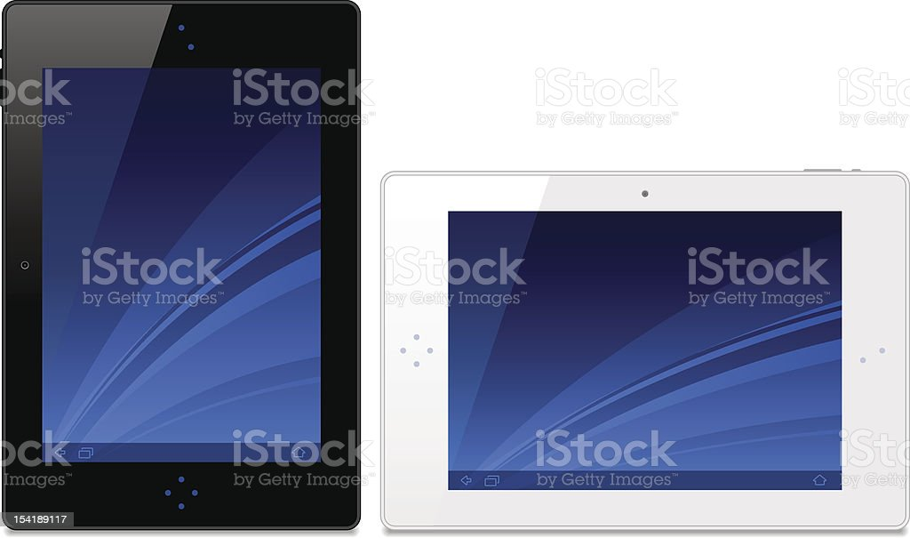 Tablet royalty-free tablet stock vector art & more images of book