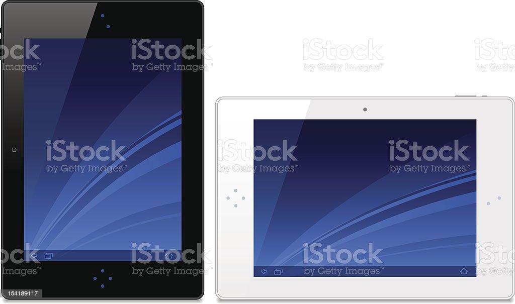Tablet royalty-free stock vector art