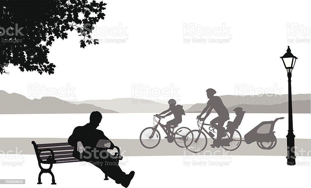 Tablet'nCycling – Vektorgrafik