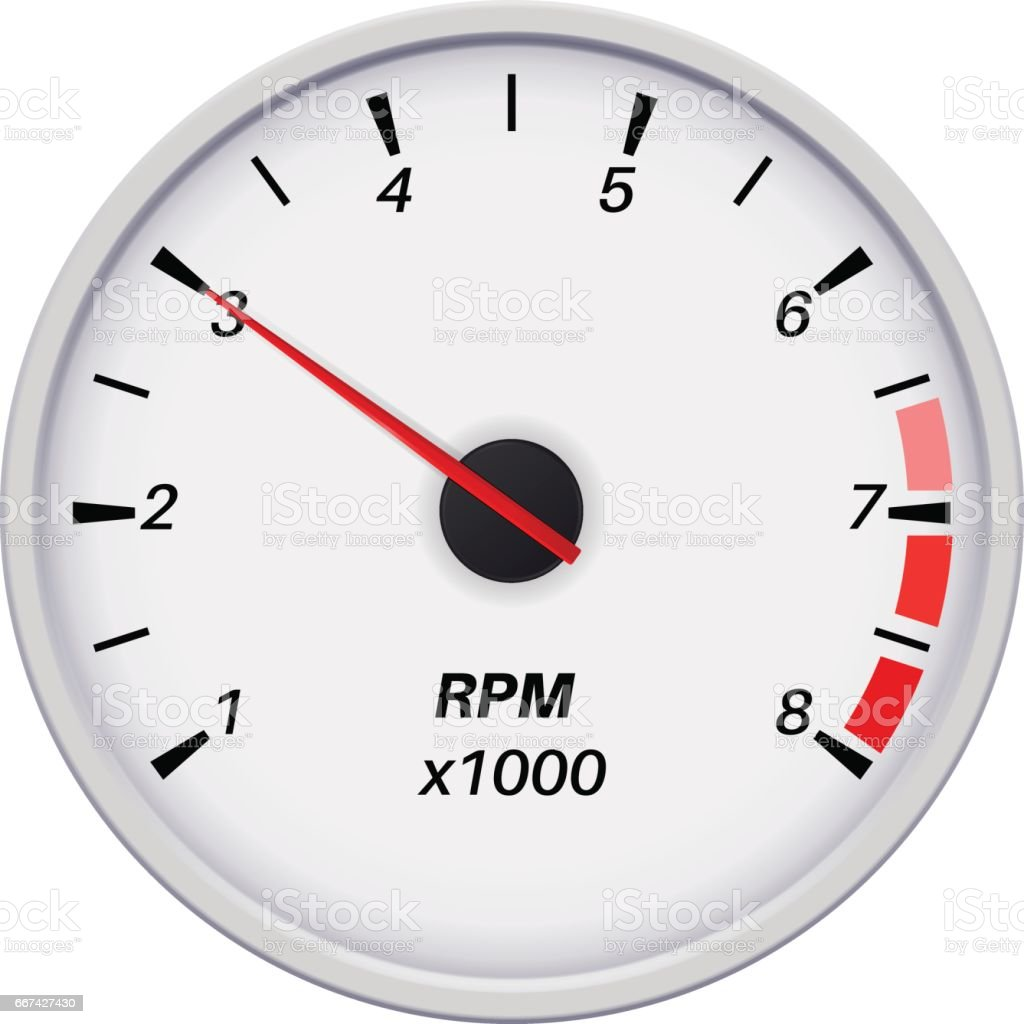 rpm gauge vector. collection of colorful infographic gauge element. vector art · tachometer. car dashboard white illustration rpm a