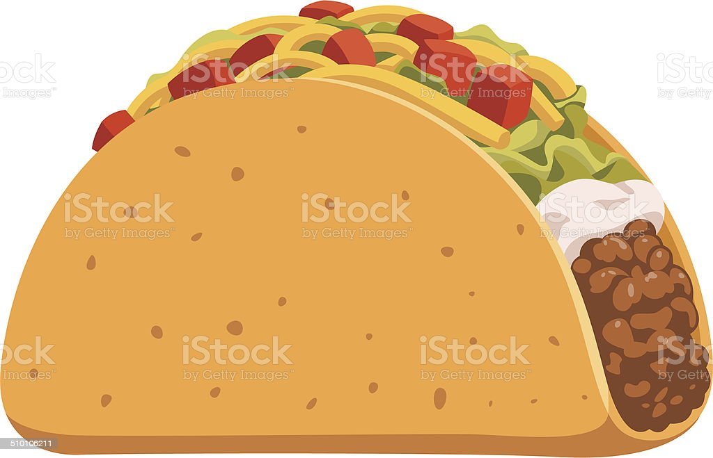 royalty free taco clip art vector images illustrations istock rh istockphoto com taco clipart images taco clipart png