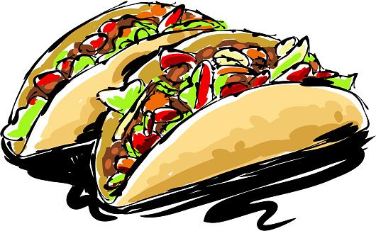 Taco Drawing
