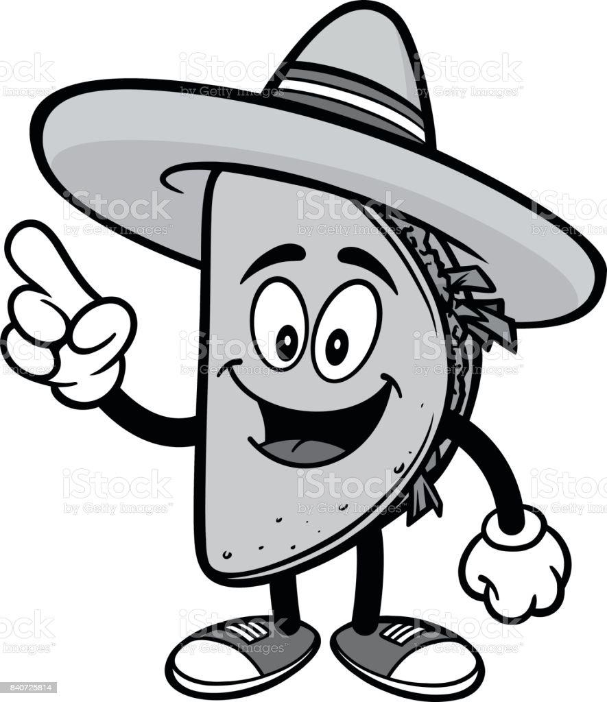 royalty free taco talking clip art vector images illustrations rh istockphoto com tacos clipart images tacos clipart images