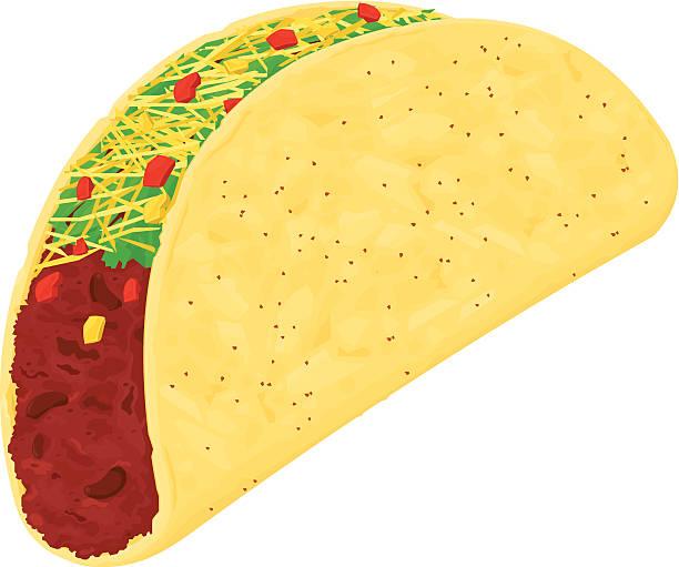 ilustrações de stock, clip art, desenhos animados e ícones de taco - red bell pepper isolated