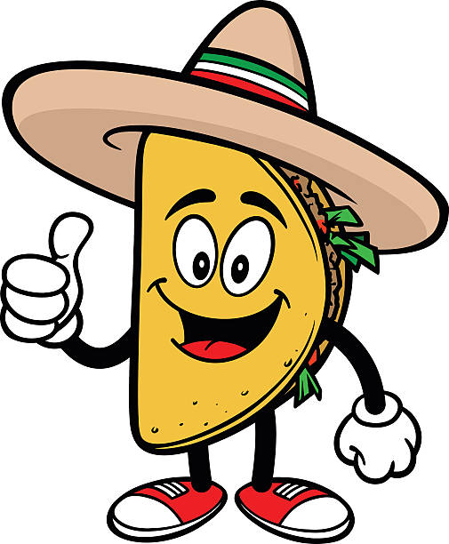 Royalty Free Taco Clip Art, Vector Images & Illustrations ...
