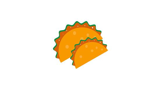 Tacos vector illustration