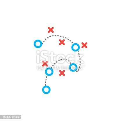 istock Tactic icon.vector illustration 1043212362