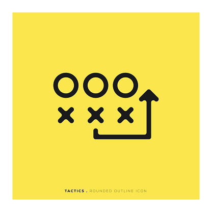 Tactics Rounded Line Icon