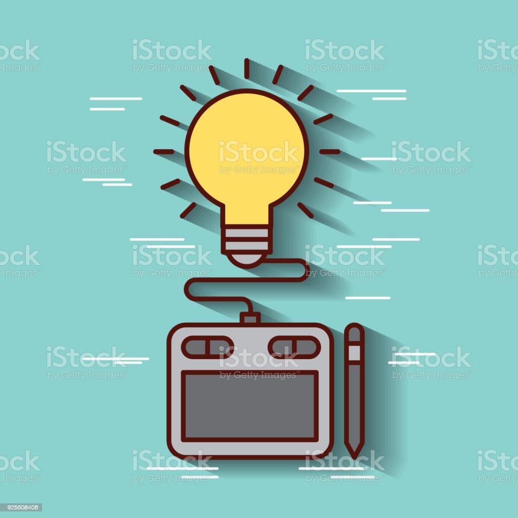 Ilustración de Ideas Diseño Gráfico Táctiles y más banco de imágenes ...