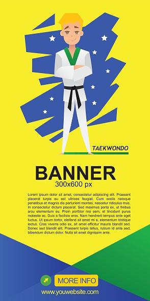 taekwondo web banner design