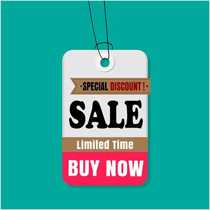 Label Sale Speciale Korting Koop Limited Time Koop Nu Vector Image Stockvectorkunst en meer beelden van Advertentie