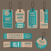Tag special prices season summer.