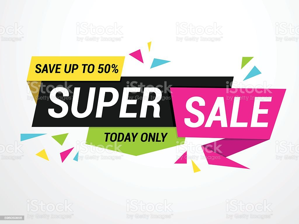 SALE Tag vector art illustration