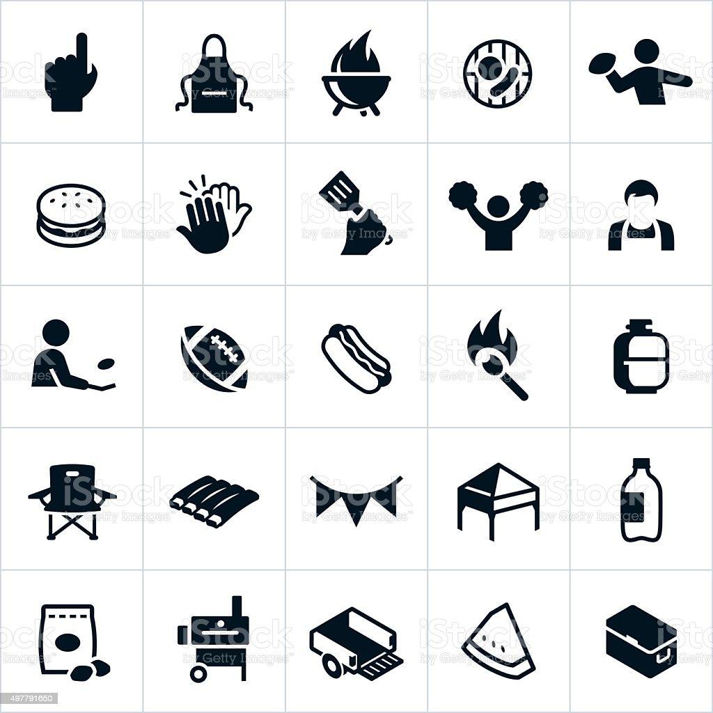 Icone di Guidare troppo vicino - illustrazione arte vettoriale