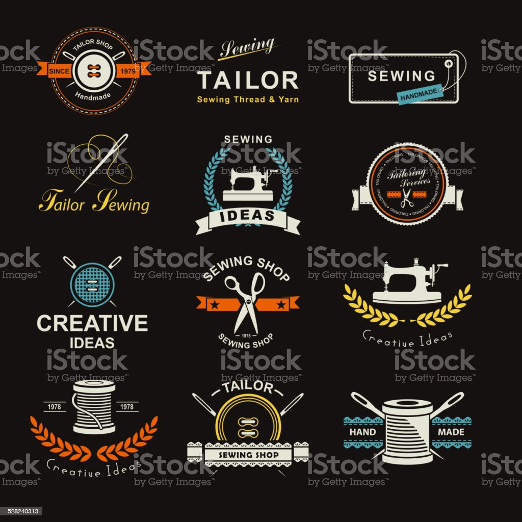 Tailor vector art illustration
