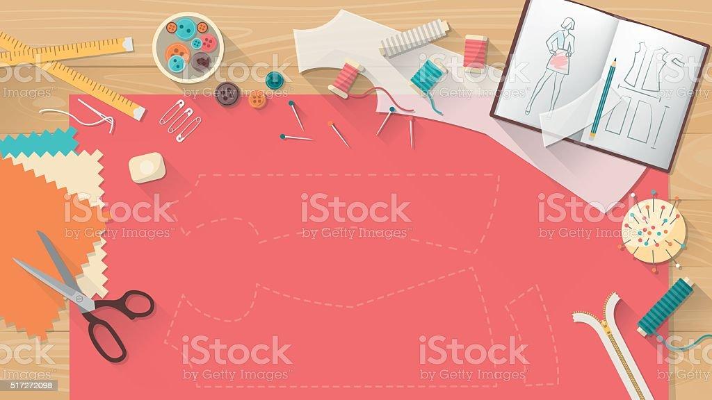 Personnaliser la table - Illustration vectorielle