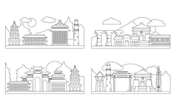 臺北臺灣橫幅概念集, 外形風格 - 台灣 幅插畫檔、美工圖案、卡通及圖標