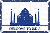 Taj Mahal Stamp